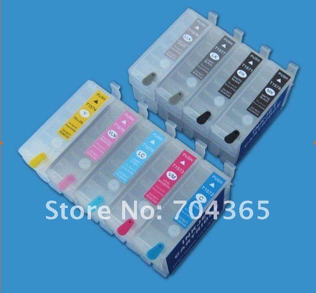 Перезаправляемый картридж с Постоянный чип для Epson R3000 принтер 9 Цвет чернильный картридж