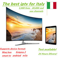 IPTV Italy Iptv Europe Channels 20 000 Vod Hot Xxx Channels 3 000 Lives Germany Albania