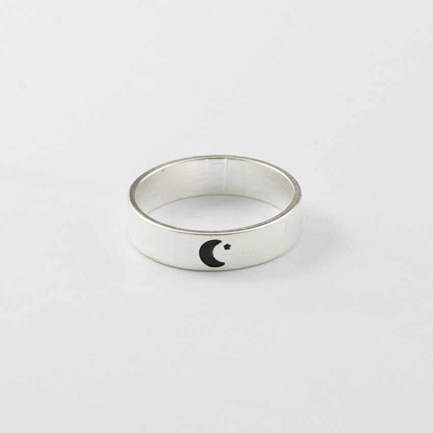 Новые модные золотые Цвет Полумесяца; японские народные сандалии кольцо, украшения для бракосочетания банкетные вечерние аксессуары полумесяц кольцо на кончик пальца оптом для женщин