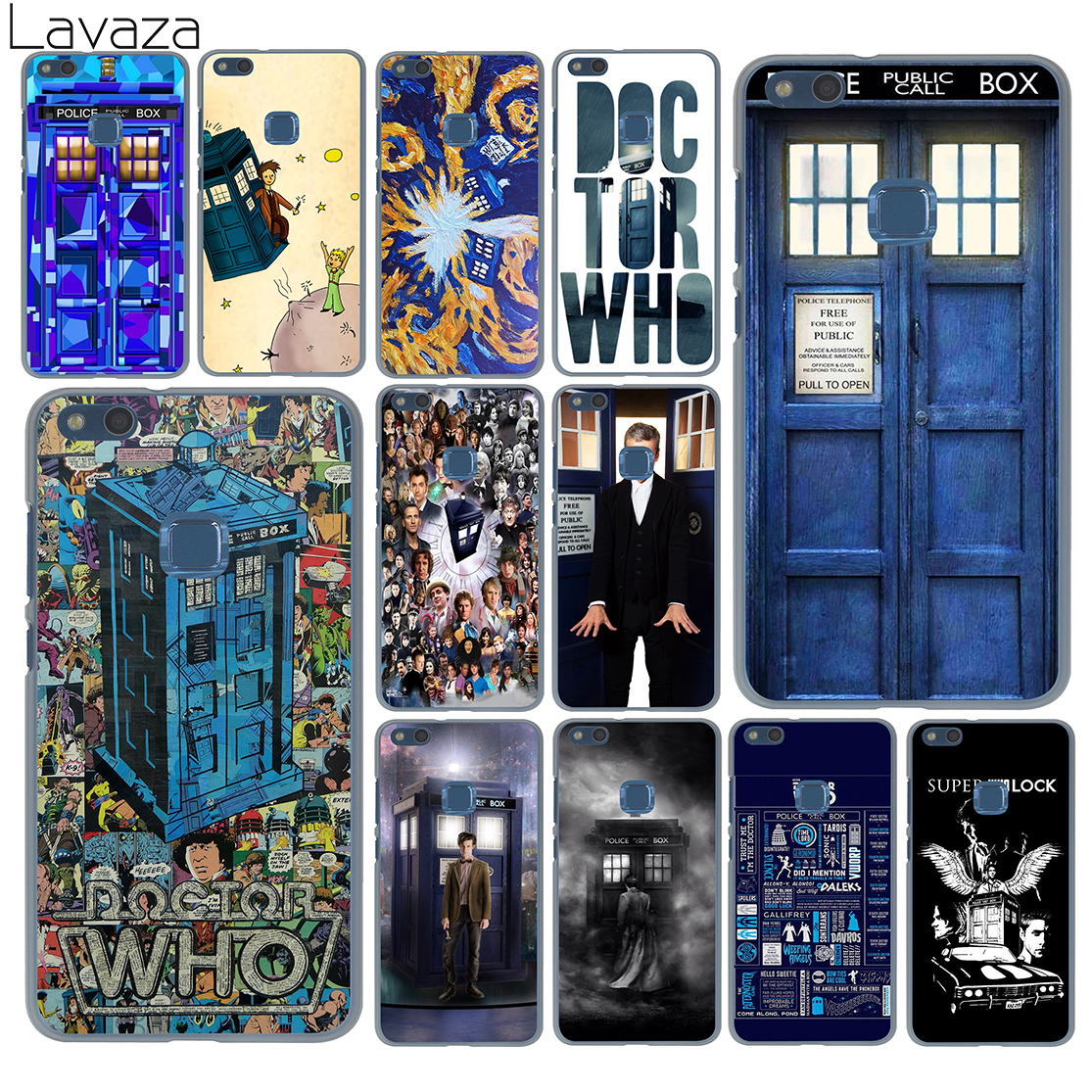 Phone Bags & Cases Tardis Box Doctor Who Fashion Hard Case Cover For Huawei P30 P20 P10 P9 P8 Lite 2017 P30 P20 Pro Mini P Smart 2019 Cover Hot