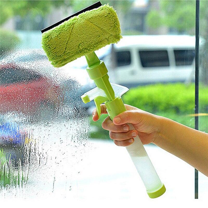Tamaño grande Multi-Función de Chorro de Agua Ventanas cepillo raspador glass wi