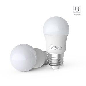 Image 3 - Youpin ZHIRUI 5WหลอดไฟE27 6500K 500lumสีขาวหลอดไฟLEDสำหรับชุดโคมไฟหลอดไฟ