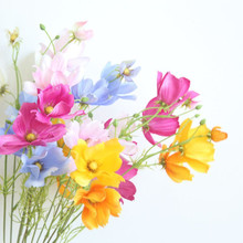 Lona Cosmos Single Branch Gesang Flowers Artificial Flower Home Decoration Wedding Wall Fake Bouquet
