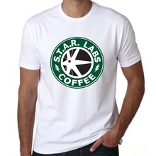 S.T.A.R. Labs Coffee men's t-shirt