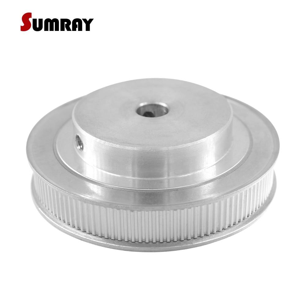 SUMRAY MXL 150T Timing Pulley 8/10/12mm Inner Bore Aluminium Pulley 11mm Belt Width CNC Belt Pulley for 3D Printer все цены