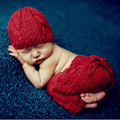 0-4 M Bebê Recém-nascido Meninas Meninos Crochet Knit Costume Foto Fotografia Prop # LD789