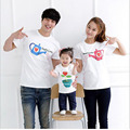 Fashion Mother Son Outfits Cartoon Mother Father Baby T-Shirt Cool Family Matching Outfits Summer Family T-Shirts