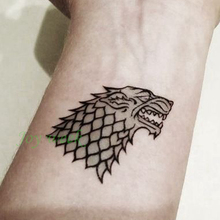 Game of thrones temporary tattoo for Tattoo shop games