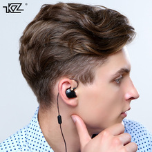 2016 Newest Original KZ ATR 3.5mm In Ear Earphones HIFI Stereo Sport Earphone Super Bass Noise Isolating With Mic Free Shipping
