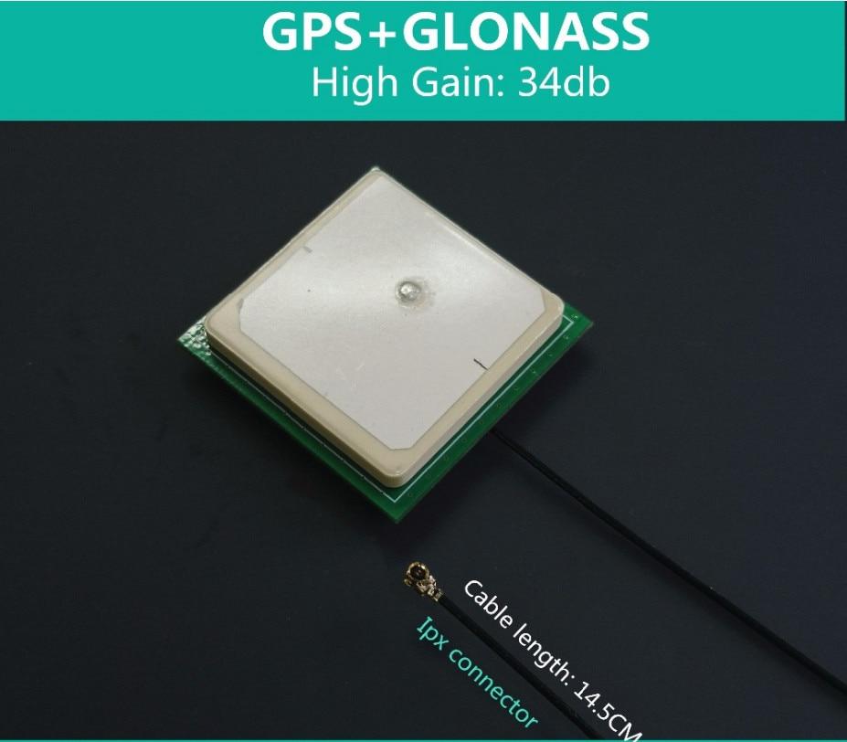 GPS Module GPS NEO-M8T GY-GPSV3-M8T GPS Module GLONASS GNSS GPS Antenna Module Optimized Accuracy Survey-In Single-Satellite Timing Compatible LEA-5T LEA-6T NEO-6