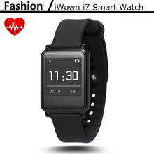 2016 Newest ! iWown i7 Smart Watch Bracelet Wrist Band Bluetooth 4.0 Waterproof Touch Screen Fitness Tracker Health Wristband