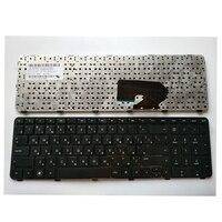 Teclado russo para hp pavilion DV7 6100 DV7 6000 DV7 6200 634016 251 639396 251 ru preto com quadro|keyboard for hp|ru keyboarddv7-6000 keyboard -