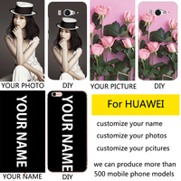 DIY custom design own name Customize printing your photo picture phone case cover for HUAWEI enjoy 6s case Phone  cases