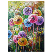 YOGOTOP Diy Diamond Painting Cross Stitch Full Embroidery Color dandelion 5D Mosaic Crafts Home Decor CF012