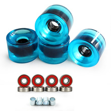 Soft Big Wheels Skateboard Longboard Wheels PU 70MM Durable Super Cruiser Wheels Road Longboard