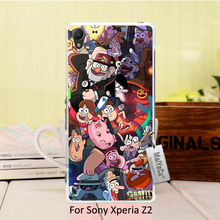 MaiYaCa Pattern PC phone Accessories Cove gravity falls cartoon happy For Sony Z2