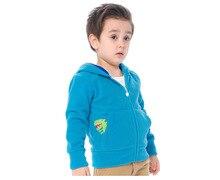 Character Pocket Boys Coat Kids Fleece Cotton Full Sleeve With Hooded Baby Girl Coats And Jackets Cardigan Clothing KW-1637-3
