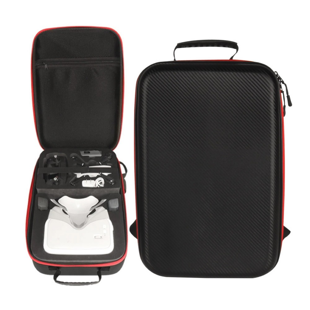 DJI Spark Drone and dji VR Flying Glasses Combination Backpack PU Leather Advanced Standards Protection Quadcopter Storage Case dji spark glasses vr glasses box safety box suitcase waterproof storage bag humidity suitcase for dji spark vr accessories