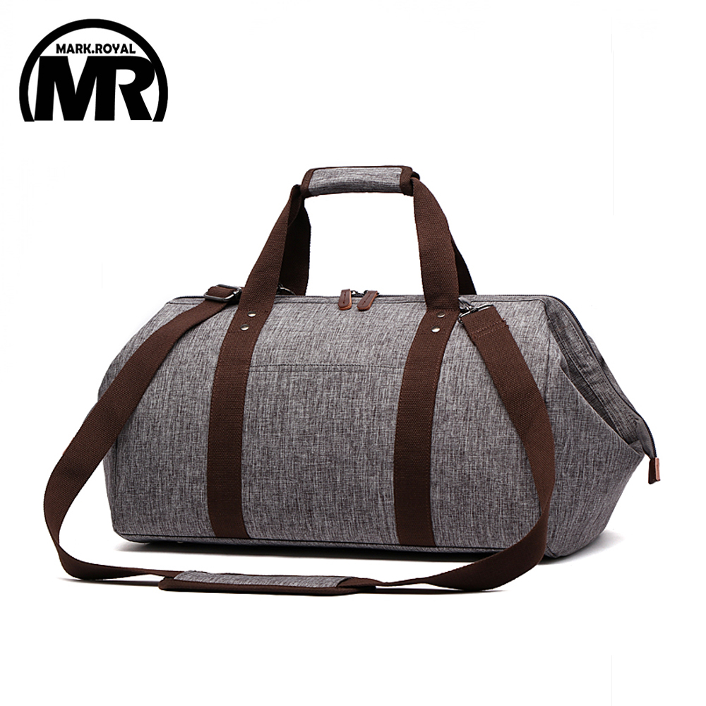 0511822c875 MARKROYAL Waterproof Travel Bag Large Capacity Carry On Luggage Bag  Business Hand Bag Big Opening Design