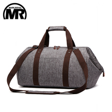 все цены на MARKROYAL Waterproof Travel Bag Large Capacity Carry On Luggage Bag Business Hand Bag Big Opening Design Duffle Bags онлайн