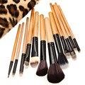12pcs Makeup Brushes Set for Powder Eyeshadow Eyebrow Foundation Brush Make up Brush Set Pincel Maquiagem Cosmetic Tool Kit