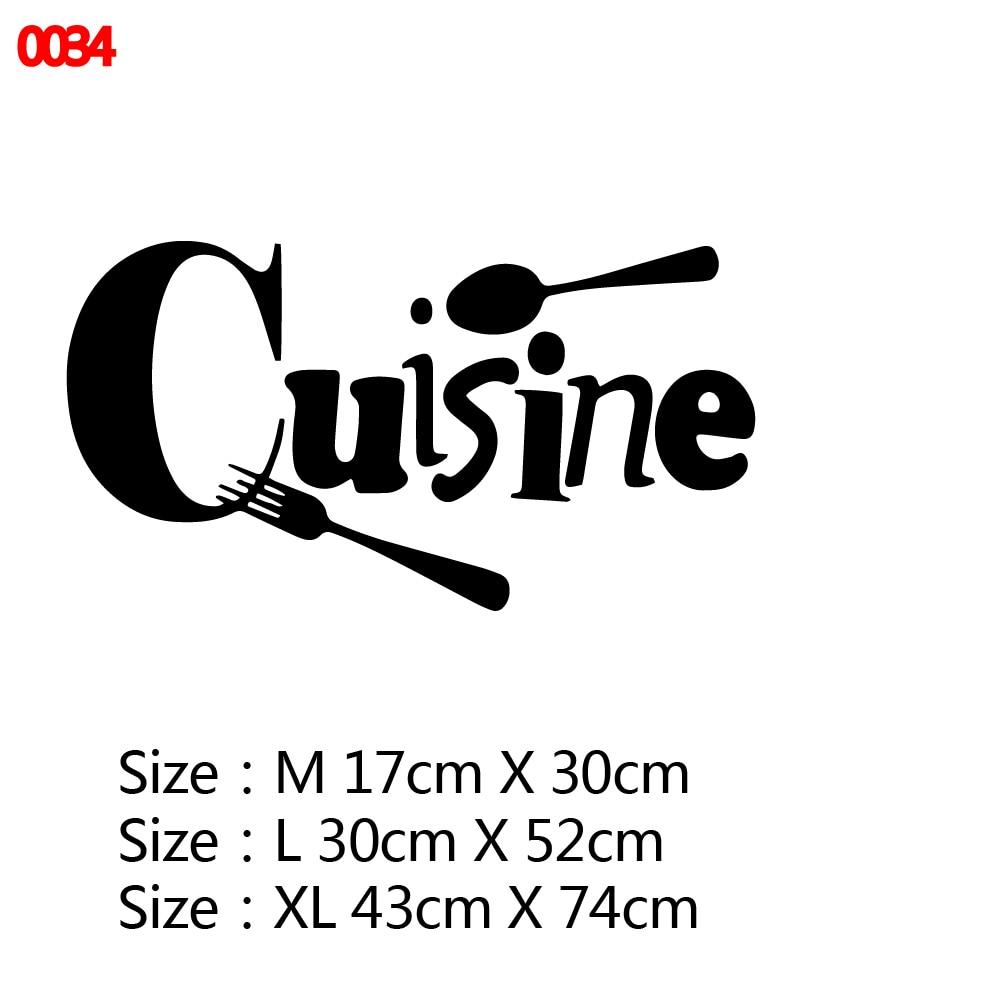 21 стиль большая кухонная Настенная Наклейка виниловая наклейка s наклейки для украшения дома аксессуары Фреска домашний декор обои плакат - Цвет: Style1