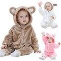 2016 Новый детская одежда мальчики девочки Одежды новая зимняя весна осень мультфильм животных детские халат Пижамы & Robe зима розовый