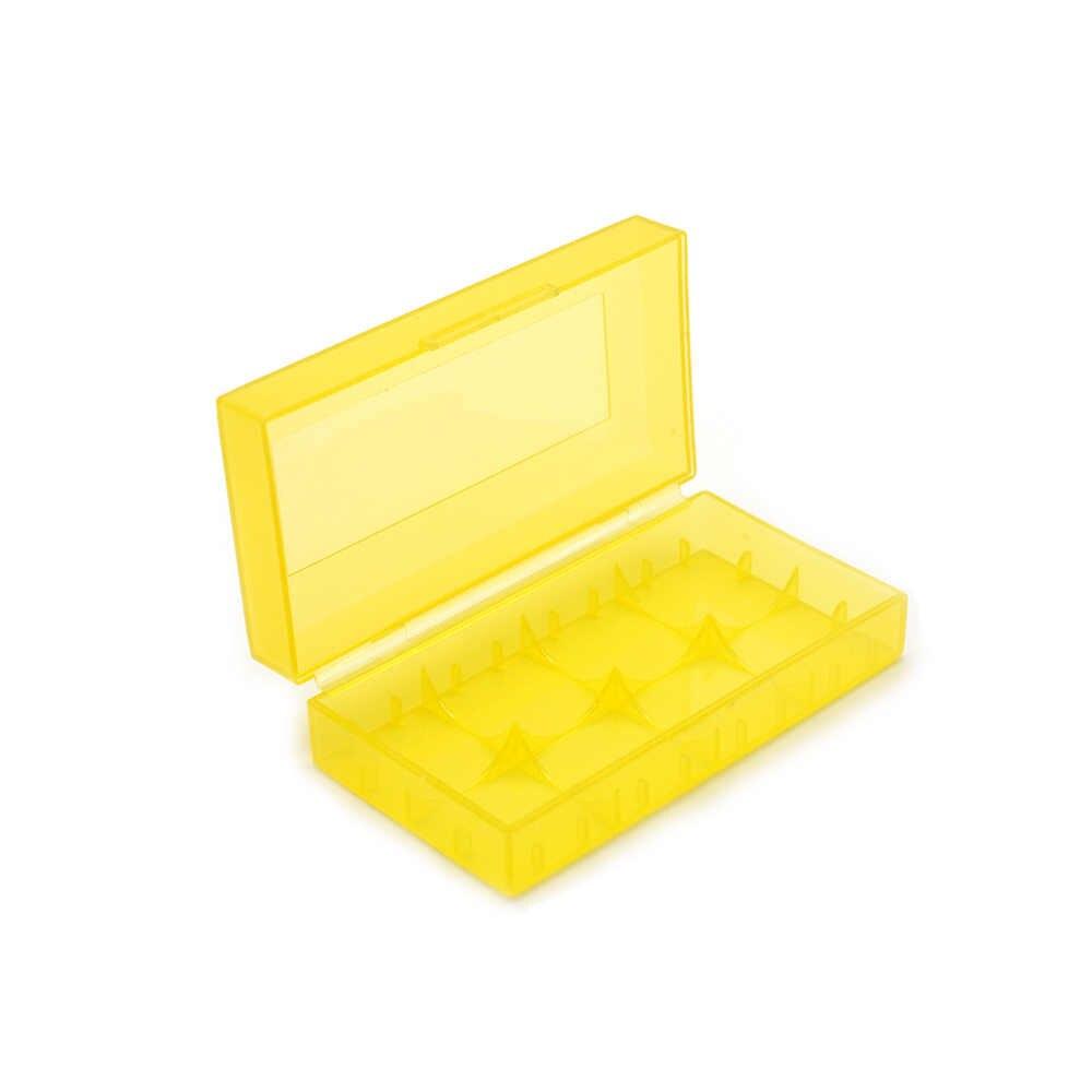 18650 18350 CR123A 18500 배터리에 대한 도매 새로운 하드 플라스틱 배터리 보호 스토리지 박스 케이스 홀더 무료 배송