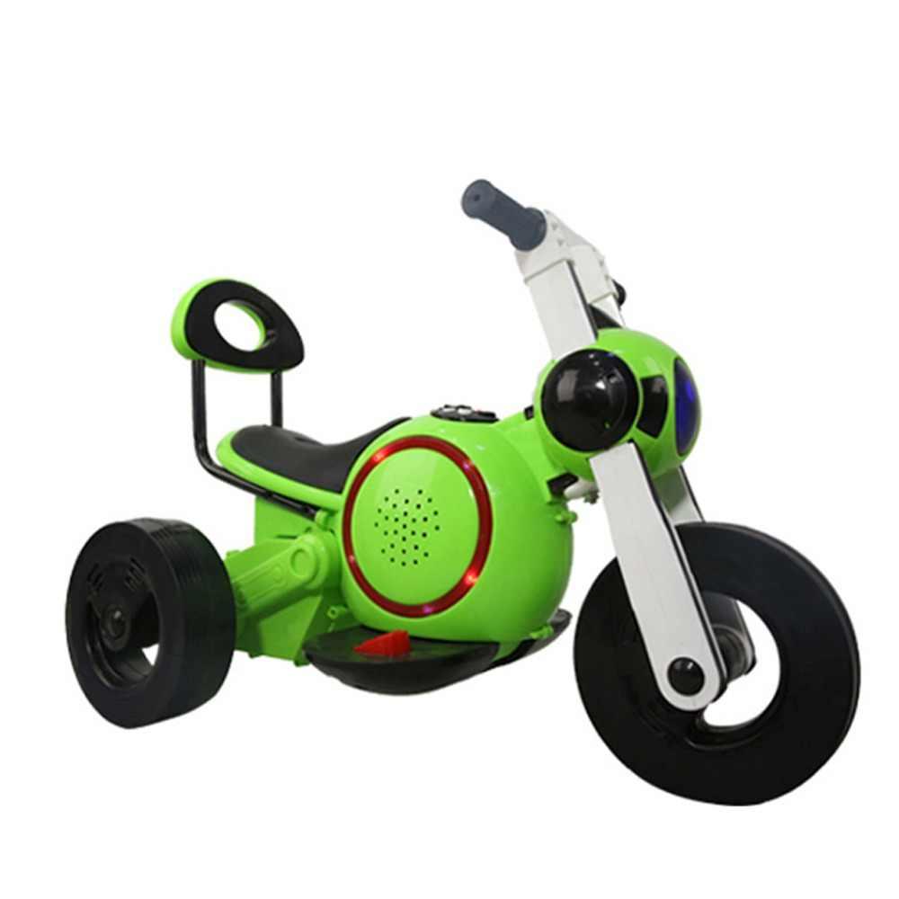 Космическая собака дети Электрический мотоцикл огни Музыка Электрический малыш батарея игрушечный автомобиль Электрический дети автомобили езда на игрушках