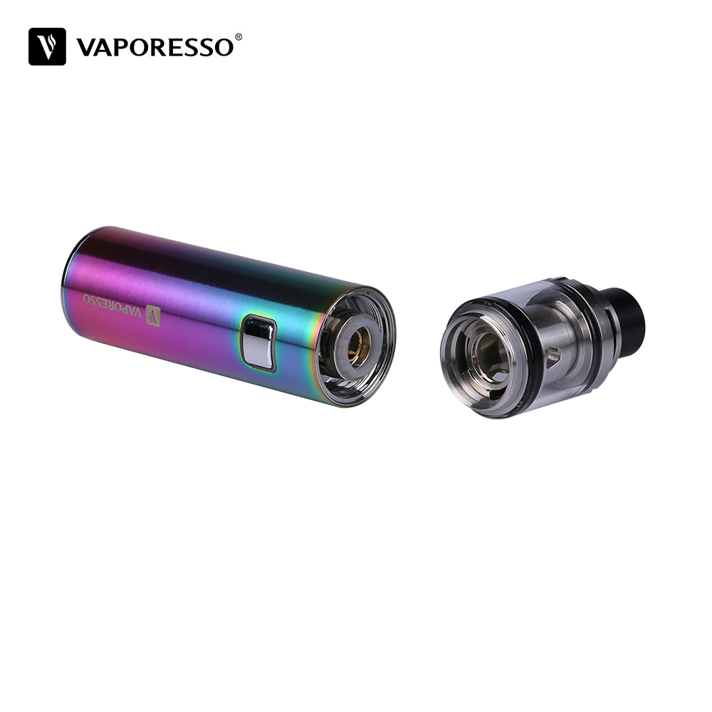 Original Vaporesso VECO SOLO Starter Electronic Cigarette with 1500mah Battery mod 2ml Tank 0.2ohm ECO Universal Coil Vape Kit