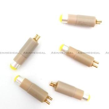 New 5pcs NSK fiber optic coupling bulb  handpiece coupling LED bulb STAR fiber optic handpiece coupling LED lamp