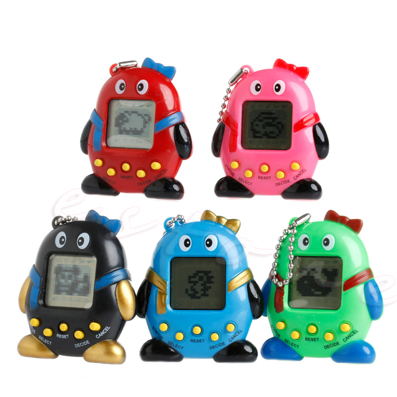 2017 NEW 168 Pets 90S Nostalgic Virtual Pet Cyber Pet Digital Pet Tamagotchi Penguins E pet