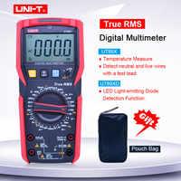 UNI-T UT89X UT89XD véritable multimètre numérique RMS courant alternatif Volt Ohm mètre résistance à la fréquence de capacité NCV/temp/testeur de LED