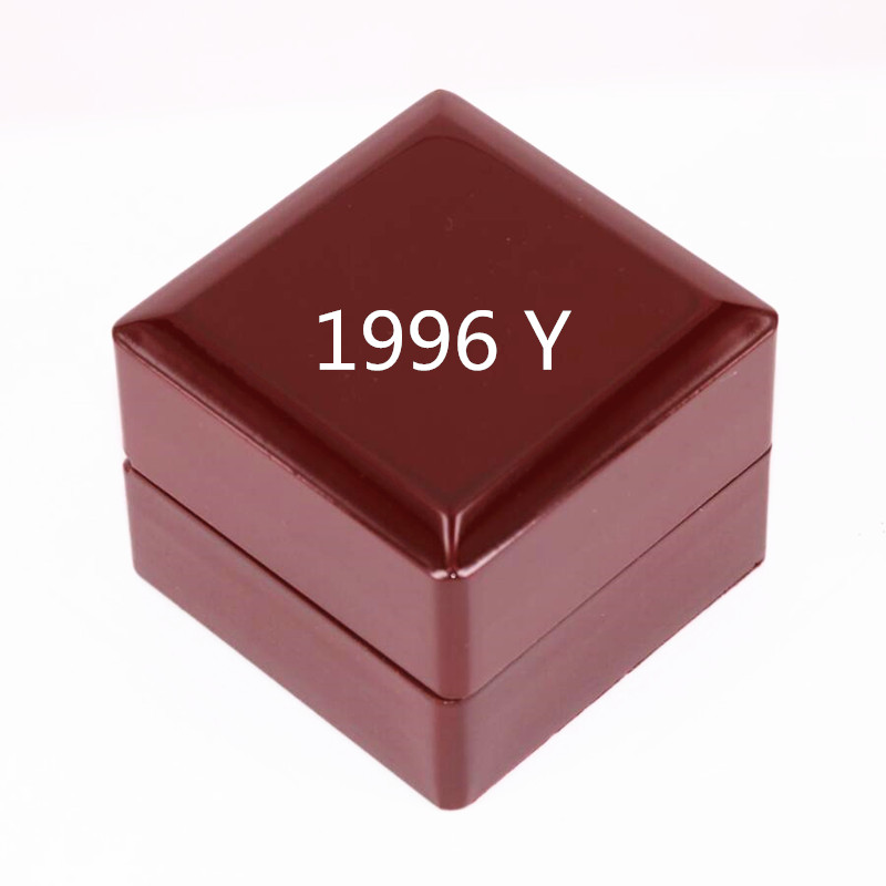 USA size 10 11 12 13 factory wholesale price 1996 NY996IPDE rings solid ring display box drop shipping