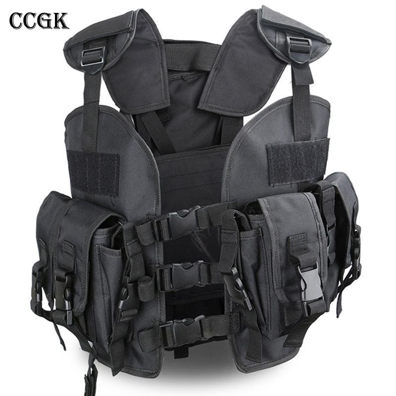 Tactical vest Military jacket Woodland Camouflage Hunting safety vest Clothing tactical uniform armored Security Protection np gc b002 1 10 exo armored suit private military contractor