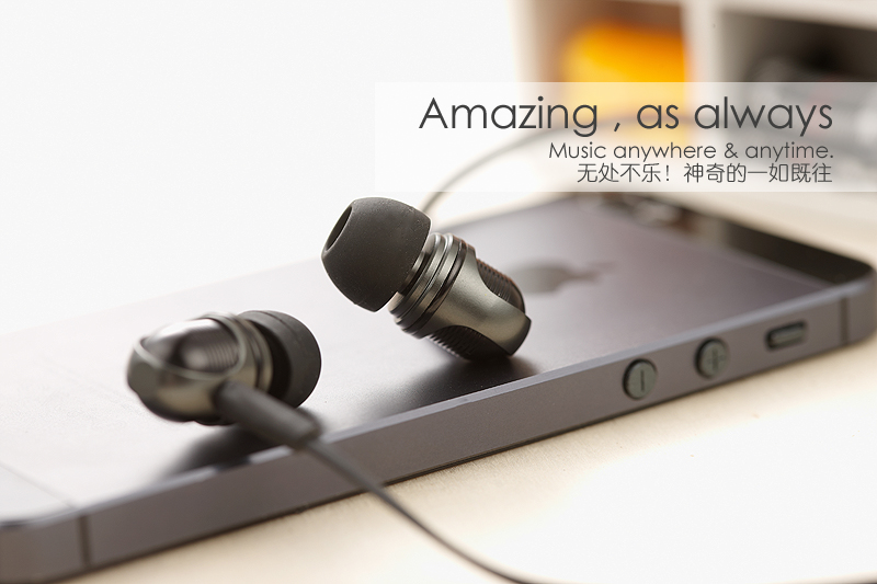 Wallytech W801 Metal Super Bass Stereo In-ear Earphones with Volume Control with Microphone Headsets for iOS iPhone Free shiping m320 metal bass in ear stereo earphones headphones headset earbuds with microphone for iphone samsung xiaomi huawei htc