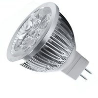 8 4W Dimmable MR16 LED Bulb 3200K Warm White LED Spotlight 50Watt Equivalent Bi Pin GU5