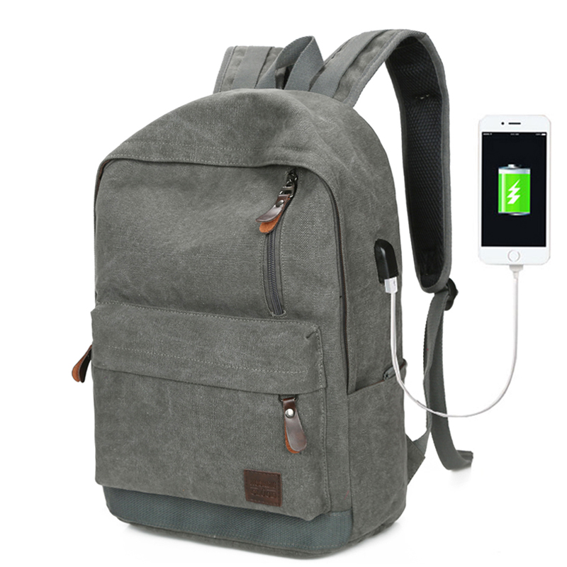 New Canvas Backpack College Student School Backpacks Men Bags Suit for 14 inch Computer Casual Rucksack Travel for Teenagers Bag msmo 2017 new kpop exo canvas backpack sacks women men student school bags for girl boy casual travel exo bags