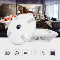 HD FishEye IP Camera WiFi 960P 360 Degree Mini WiFi Camera 2MP Network Home Security Camera