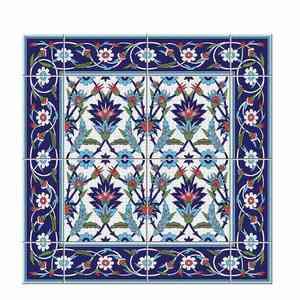 Image 4 - Hot marroquí Lack mesa escritorio Tops tela calcomanías de pared extraíble autoadhesivo impermeable mueble o pared pegatina 55X55Cm