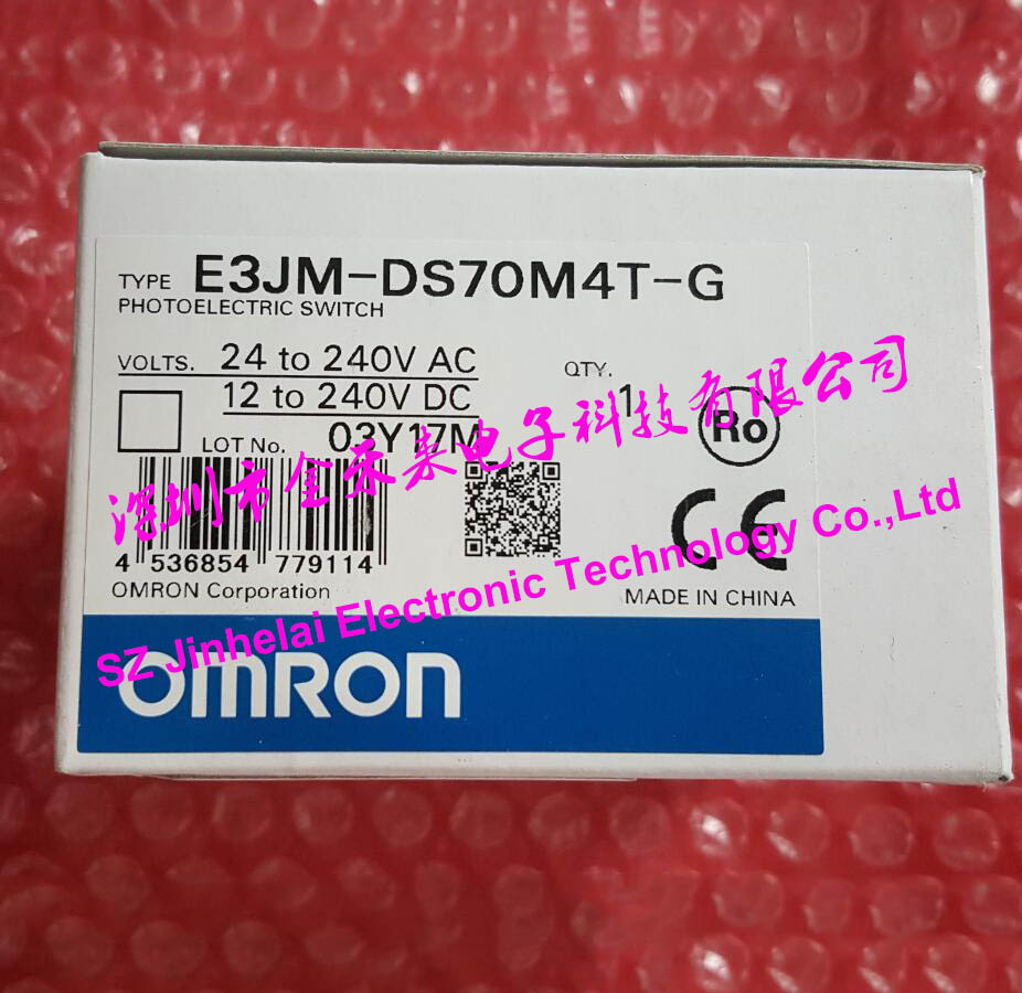 100% New and original E3JM-DS70M4-G, E3JM-DS70M4T-G OMRON Photoelectric switch Photoelectric sensor