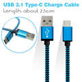 BrankBass USB 3.1 Type C USB C cable USB Data Sync Charge Cable for Macbook For Xiaomi 4c For Onplus2/3