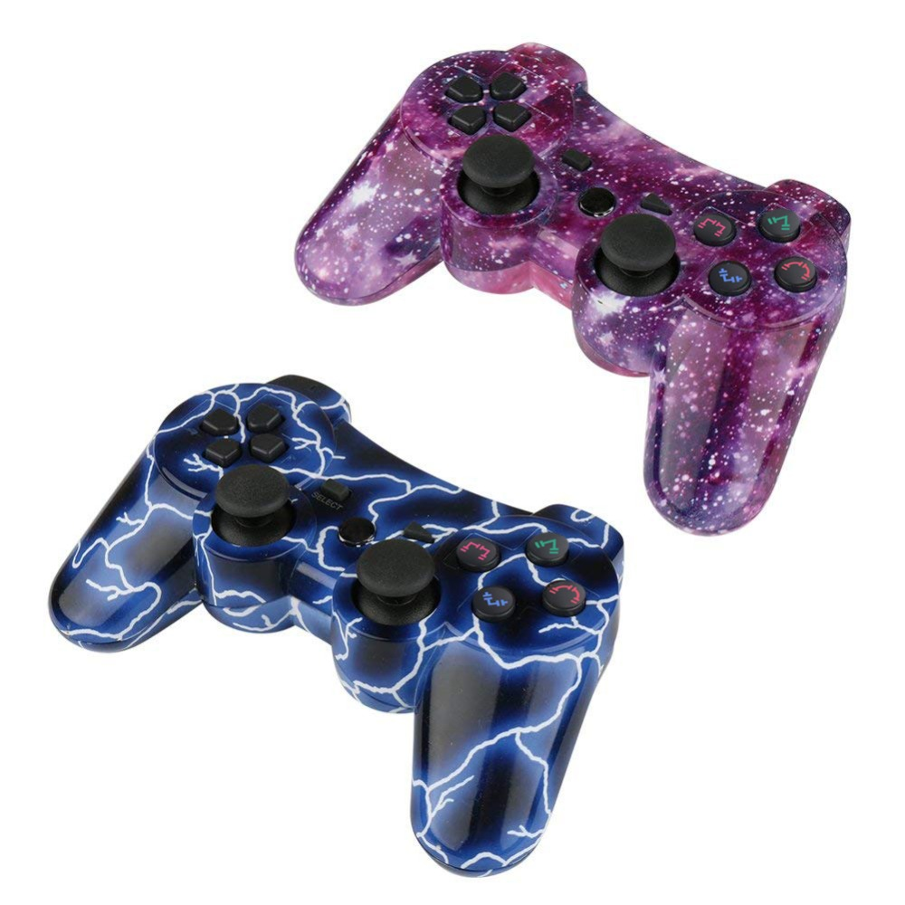 Image 4 - K ISHAKO For Sony gamepad ps3 joystick Dualshock Bluetooth Gamepad Joystick Wireless console for Ps3/ps2/pc game controller-in Gamepads from Consumer Electronics