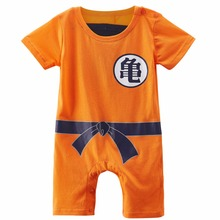 Baby Boys Dragon Ball Z Halloween Romper Costume