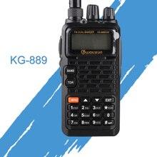 ทั่วไป Walkie Talkies สำหรับ Wouxun KG 889 VHF/UHF กันน้ำ Dual Band HAM Two WAY วิทยุแบบพกพา CB วิทยุมือถือเครื่องรับ