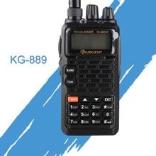 一般的なトランシーバー wouxun キロ 889 VHF/UHF 防水デュアルバンドハム双方向ラジオポータブル CB ラジオハンドヘルド受信機