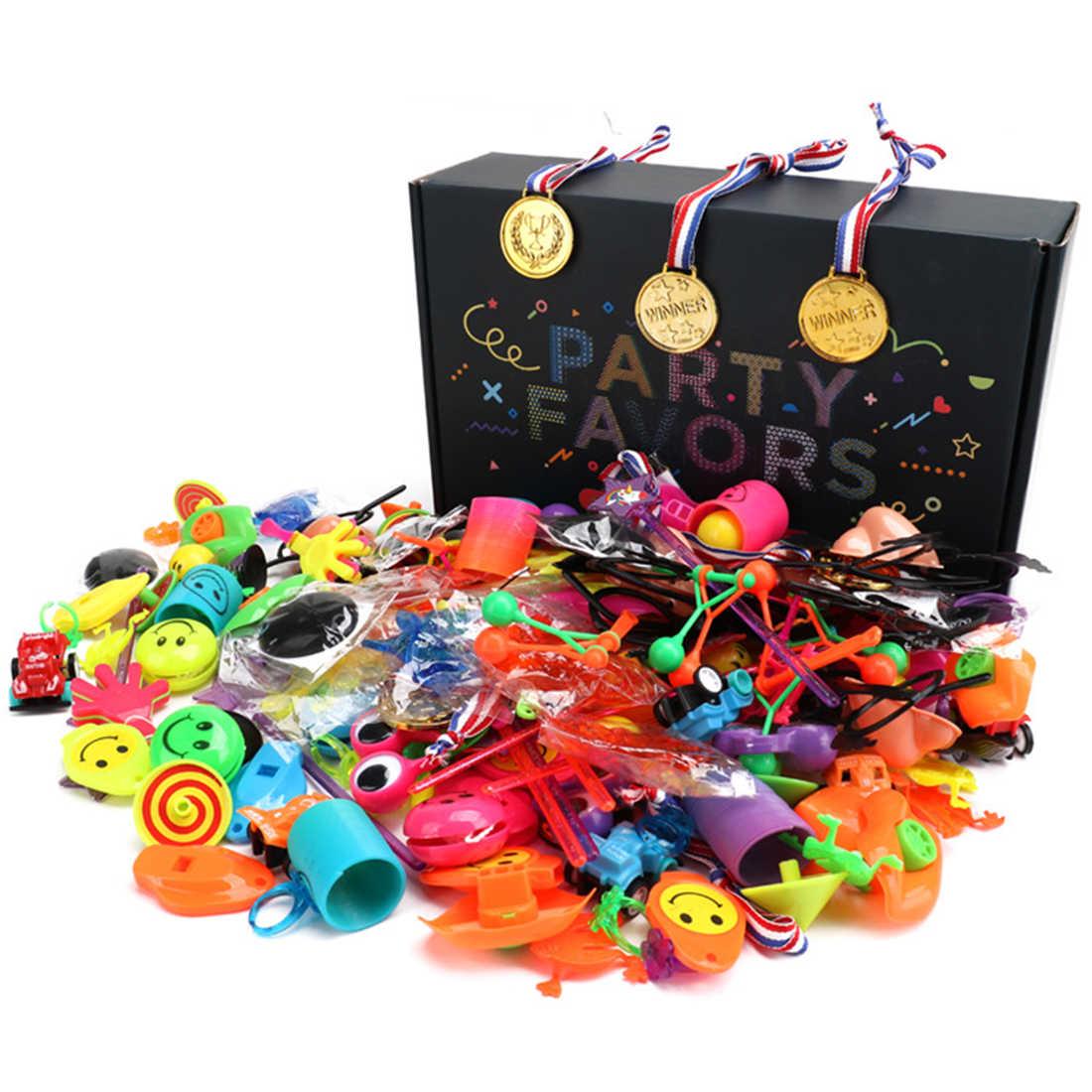 Цена оптовой продажи 150 шт./лот дети маленькие игрушки вечерние Опора Набор День рождения праздник DIY украшения пользу призы для детей подарок