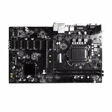 B250 BTC 6PCI-E Desktop Computer Motherboard Professional Mainboard VGA+DVI input USB 3.0/2.0 1151 DDR4 32G 16x PCIe Slots