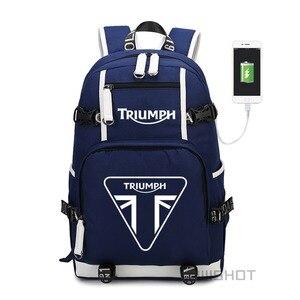 Image 2 - WISHOT triumph usb wielofunkcyjne plecak z funkcją ładowania nastolatki męskie damskie torby szkolne dla studentów torby podróżne