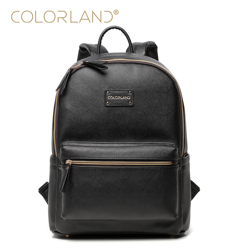 COLORLAND Designer Baby Diaper Bags for Mom Large Capacity Nappy Maternity Bag Backpack Baby Care Bag